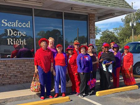 Fayette Foxy Red Hatters 83d33592bd5